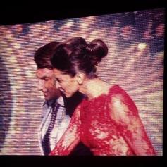 Deepika Padukone gets the best actress award from Ranveer