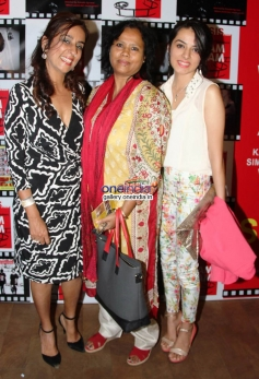 Deeya Singh, Sutapa Sikdar and Giaa Singh at the premiere of films by Starkids