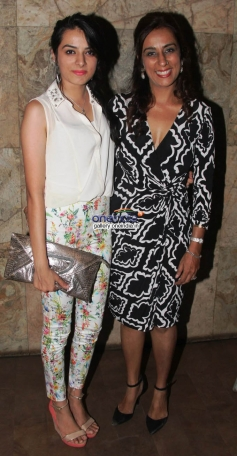 Deeya Singh with daughter Giaa Singh Arora at the premiere of films by Starkids