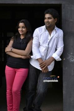 Dheeraj and Padmini stills from Vichakshana Movie