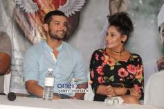 Diganth, Ragini Dwivedi at Parapancha Movie Press Meet