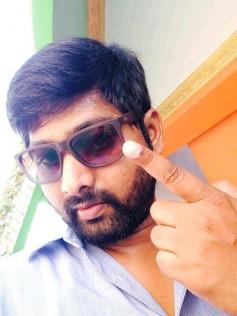 Director Thiru casted his votes