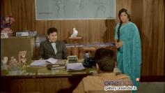 Dr. Rajkumar and Jayanthi in Kannada Movie Kasturi Nivasa