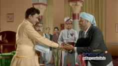 Dr. Rajkumar and K. S. Ashwath in Kannada Movie Kasturi Nivasa