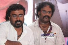 Duniya Sooriu & V. HariKrishna at Dodmane Huduga Audio Recording Press Meet