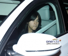 Ekta Kapoor attends her father Jeetendra's 72nd birthday bash