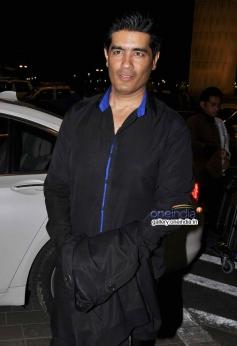 Fashion designer Manish Malhotra leaves for IIFA 2014