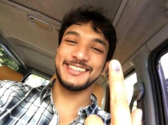 Gautham Karthik casted his vote