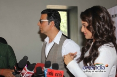 Holiday film press conference on the sets of Zee TV's DID Little Master Season 3