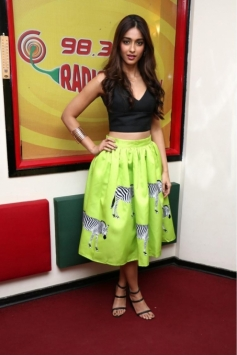 Ileana D'Cruz promote Main Tera Hero at Radio Mirchi Mumbai