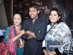 Illa Arun and Kavita Seth at launch of Ali Abbas album Ishq Kamal