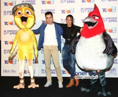 Imran Khan and Sonakshi Sinha at Rio 2 film press conference
