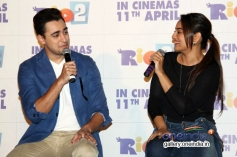 Imran Khan and Sonakshi Sinha at Rio 2 film trailer launch
