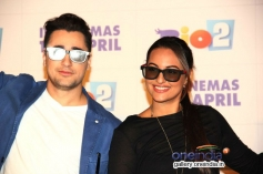 Imran Khan and Sonakshi Sinha promotes Rio 2 in Mumbai