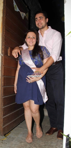 Imrankhan at Baby Shower Ceremony of Avantika Malik