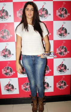 Izabelle Leite snapped at Fever 104 FM