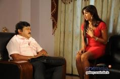 Jaggesh and Sanjjanaa in Kannada Movie Agraja