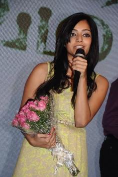 Janani Iyer at Saivam audio launch