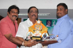 K Manju at Brahma Movie 50 Days Success Meet