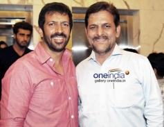 Kabir Khan , Rakesh Malhotra  at 2 States Special Screening at Yash Raj Studios