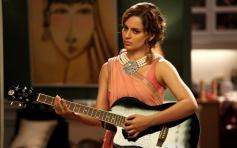 Kangna Ranaut posing with Guitar