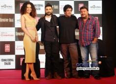 Kangna Ranaut, Vir Das, Sai Kabir & Tigmanshu Dhulia at the press conference of film Revolver Rani