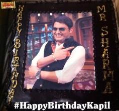 Kapil Sharma birthday cake