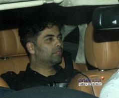Karan Johar spotted at Aamir Khan's house