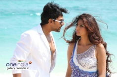 Karthik Jayaram and Neha Saxena in Just Love