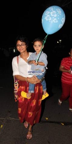Kiran Rao Khan & Aazad Khan at Baby Shower Ceremony of Avantika Malik