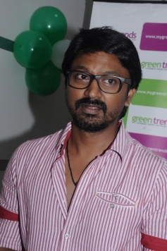 Krishna at Green Trends Hair and Style Salon launch
