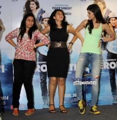 Kriti Sanon promotes Heropanti film on World Dance Day