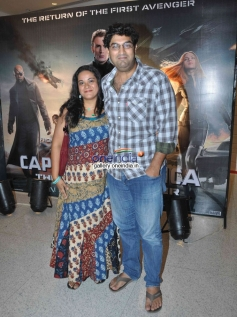 Kunaal Roy Kapur at Captain America The Winter Soldier special screening