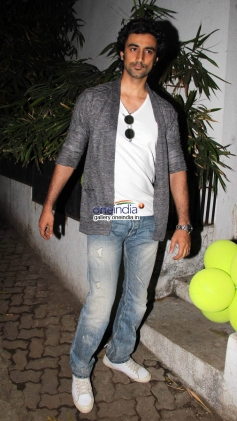 Kunal Kapoor at Baby Shower Ceremony of Avantika Malik