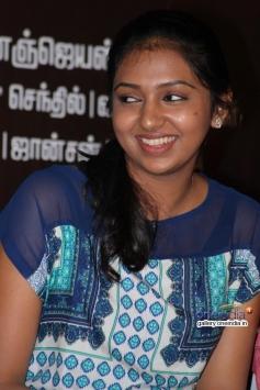 Lakshmi Menon at Naan Sigappu Manithan press meet