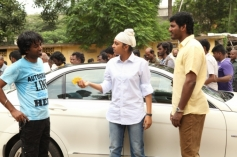 Lakshmi Menon and Vishal still from Indrudu