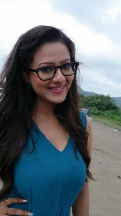 Madalasa Sharma at Samrat and Co film promotion