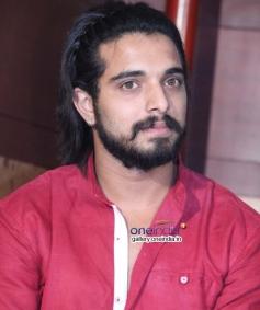 Chetan Gandharva at Melody Movie Press Meet