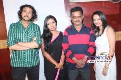 Rajesh Krishnan, Karthika Menon, Akshatha Marla at Melody Movie Press Meet
