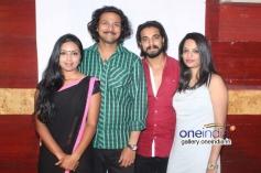 Rajesh Krishnan, Karthika Menon, Chetan Gandharva, Akshatha Marla at Melody Movie Press Meet