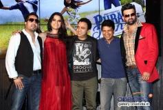Mika Singh, Sona Mohapatra, Ram Sampat, K K and Navraj Hans at Purani Jeans film music launch