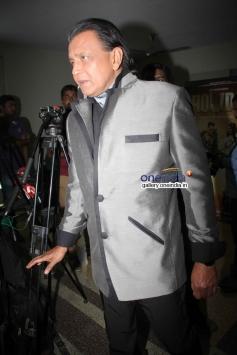 Mithun Chakraborty on the sets of Zee TV's DID Little Master Season 3