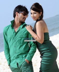 Nagarjuna and Sanjana Naidu in Kannada Movie Premarpane