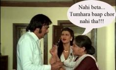 Nahi beta, tumhara baap chor nahi tha