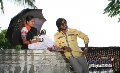 Nandita and Vishnu still from Mundaasupatti