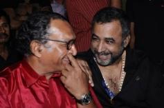 Nassar and Ponvannan at Saivam audio launch