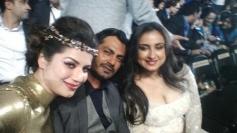 Nawazuddin Siddiqui and Divya Dutta at IIFA Awards 2014