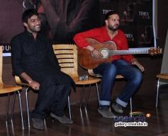 Pakistani singer Ali Abbas during the launch of his album Ishq Kamal