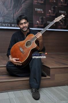 Pakistani singer Ali Abbas at launch of his album Ishq Kamal