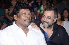 Parthiban and Ponvannan at Saivam audio launch